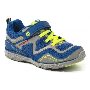 Flex - Force Blue Lime Athletic Shoe