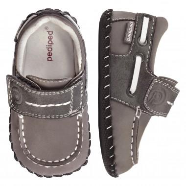Originals - Norm Grey Boat Shoe