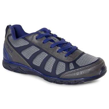 Flex - Scout Charcoal Lace Up Athletic Shoe