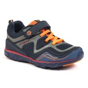 Flex - Force Navy Orange Athletic Shoe