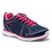 Flex - Astara Lace Up Navy Athletic Shoe