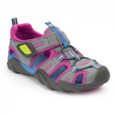 Flex - Canyon Charcoal Pink Sandal