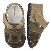 Originals - Harvey Olive Brown Sandal