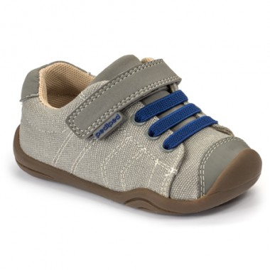 Grip 'n' Go - Jake Light Grey Blue Shoe